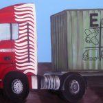 AuftragsmalereiEin LKW für ECO - So sieht der LKW fertig aus