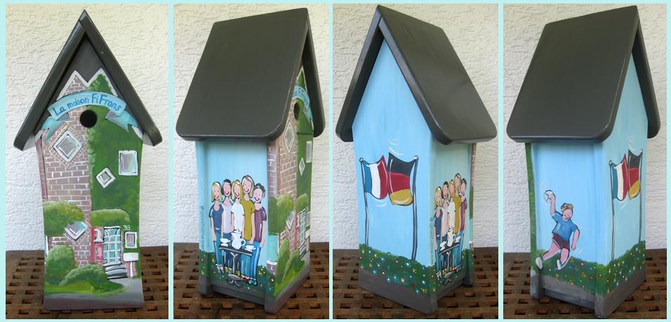 Vogelhaus Haus vom Haus