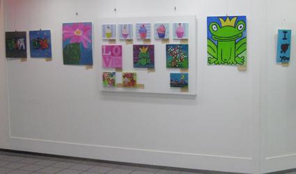 Ausstellung Kindermalkurs