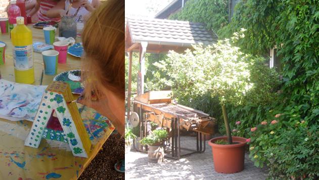 kreativer Kindergeburstag bei Maren Schmidt