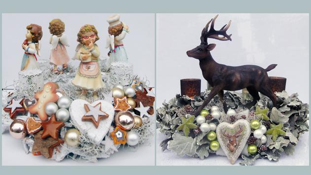 Floristikkurs Weihnachten