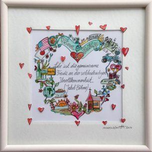 Hochzeitsgeschenk - Herz