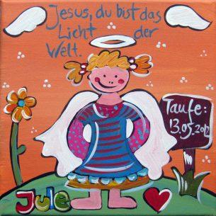 Taufgeschenk für ein Mädchen