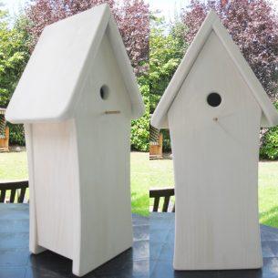 Vogelhäuschen Rohling