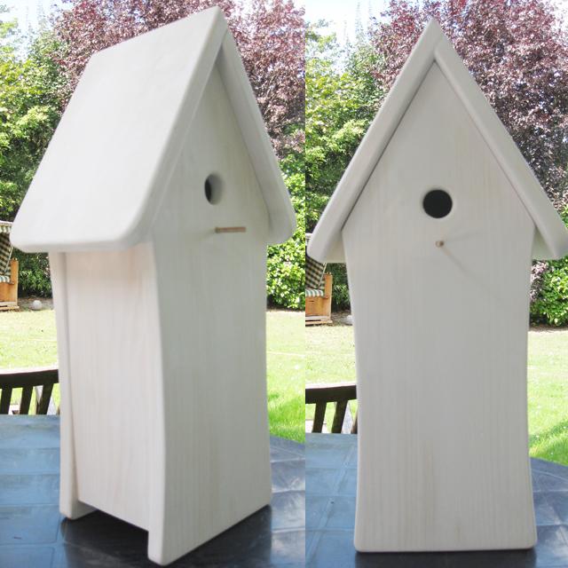 vogelhaus rohling zum bemalen maren schmidt. Black Bedroom Furniture Sets. Home Design Ideas