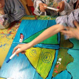 kreatives Kinderevent