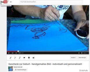 youtube - Geschenk zur Geburt