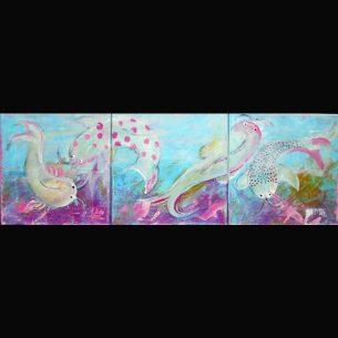 freie Malerei - Kois