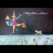 freie Malerei - Alltagsheldin