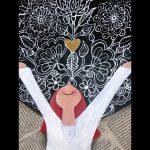 freie Malerei - Schutzengel