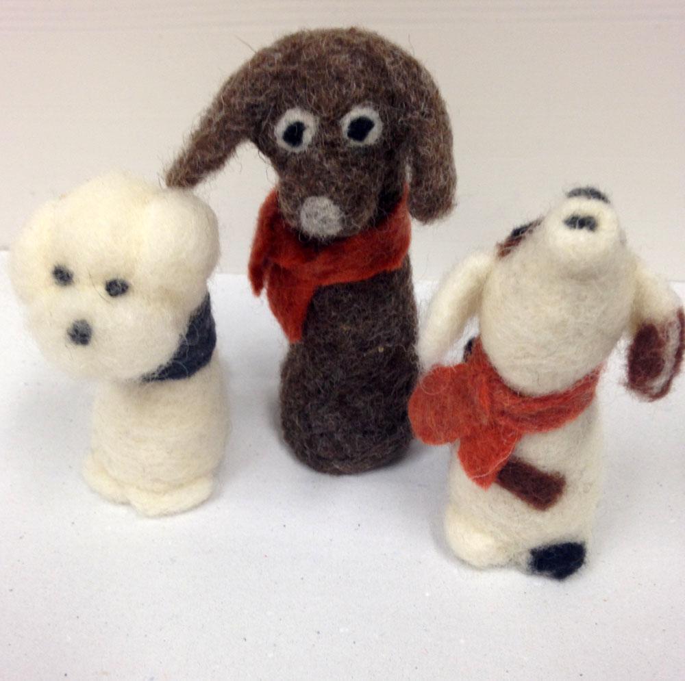 Filzen - Hunde