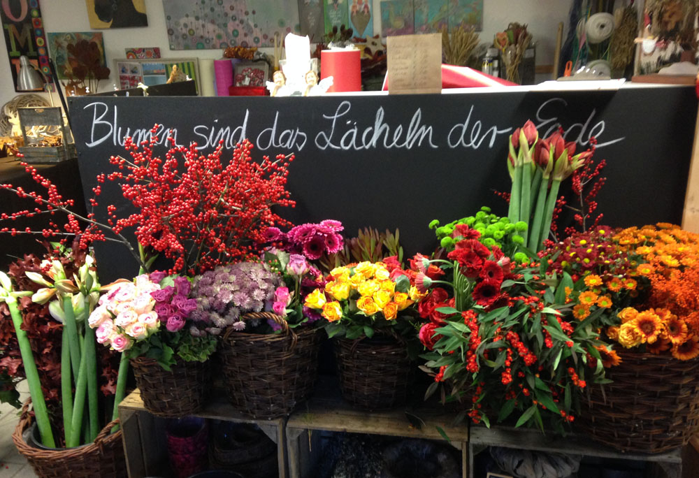 Blumen im Atelier - Maren Schmidt