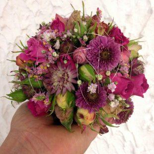Blumenkugel - Brautstrauß