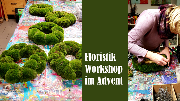 Floristikworkshop im Advent